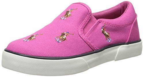 Polo Ralph Lauren Kids Bal Harbour Repeat Multi Pony Sneaker Shoes - Jazame, Inc.