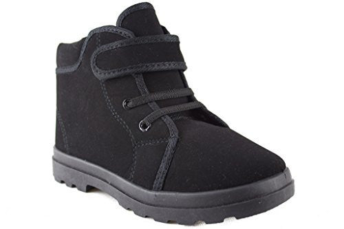 Kids 932 Boys Desert Suede Fleece Lined Chukka Boots - Jazame, Inc.
