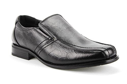 New Men's M1806 Textured Slip On Dress Loafers Shoes - Jazame, Inc.