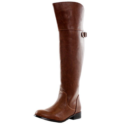 Women's Rider-24 Over the Knee Ridding Boots - Jazame, Inc.