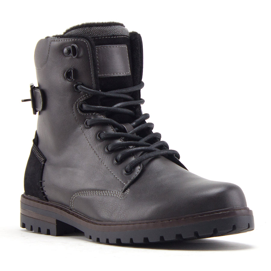 Men's B-1911 Steve 8 inch Tall Fashion Military Combat Dress Boots - Jazame, Inc.