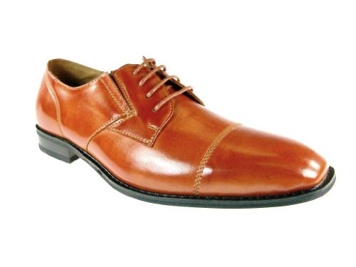 Men's 19283 Classic Cap Toe Lace Up Oxford Dress Shoes - Jazame, Inc.