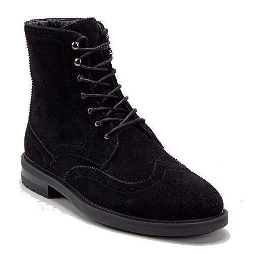 Men's E-841 Tall Lace Up Wing Tip Dress Boots - Jazame, Inc.