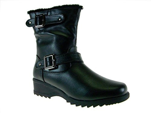 Women's Canada-05 Fur Lined Weather Proof Snow Boots - Jazame, Inc.