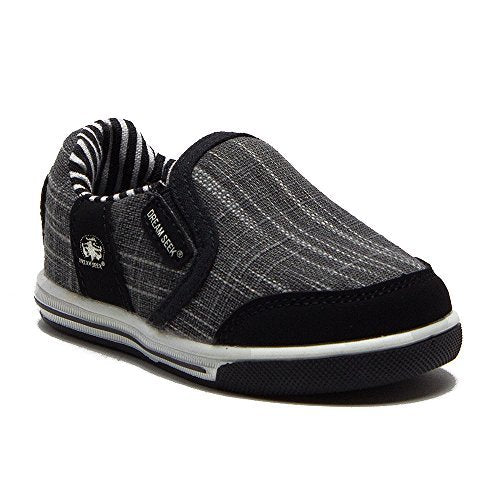 Boys 951-I Toddlers Slip On Canvas Sneakers Shoes - Jazame, Inc.