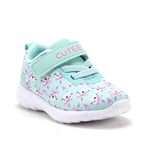 Little Toddler Girls' Cute Slip On Sneakers Casual Sports Running Shoes