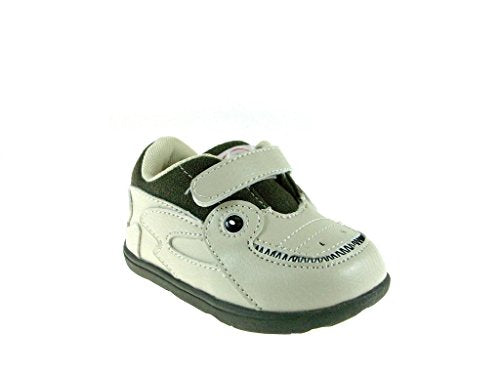 Zooligans Boy's Jacques the Gator Velcro Sneakers - Jazame, Inc.