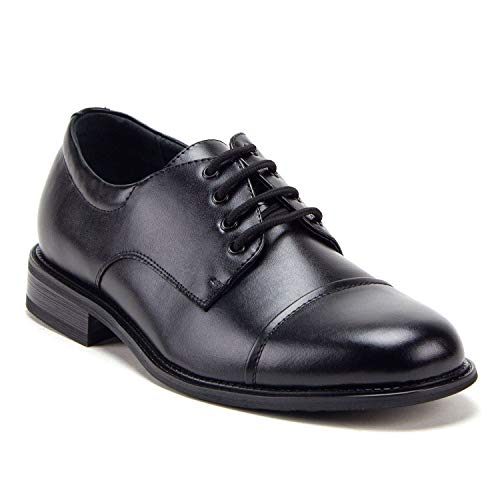 Men's 29663 Classic Round Toe Lace-Up Oxfords Casual Dress Shoes - Jazame, Inc.