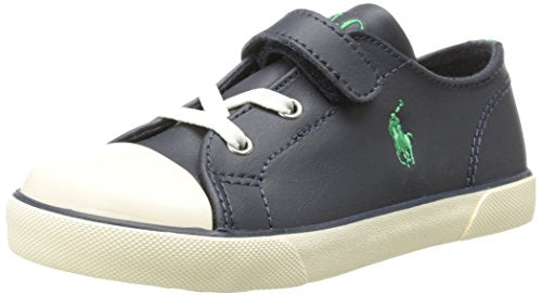 Polo Ralph Lauren Kids Carson EZ Leather Sneaker (Toddlers)