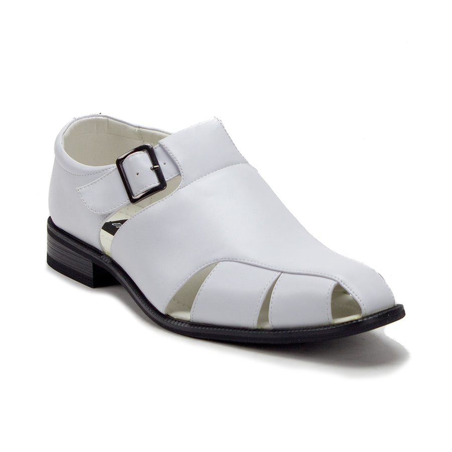 Men's VW160 Closed Toe Vented Belted Dress Sandals - Jazame, Inc.