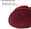 Women's Cross Band Slippers Soft Plush House Slippers Furry Cozy Open Toe Indoor Outdoor Slippers