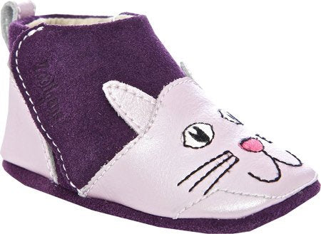 Zooligans Infants/Toddlers Crackers the Kitty Purple
