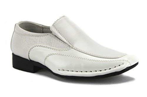 Toddler Boys I-140 Classic Slip On Loafer Dress Shoes - Jazame, Inc.