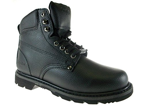 Men's 623 Genuine Leather Steel Toe Construction Safety Work Boots - Jazame, Inc.