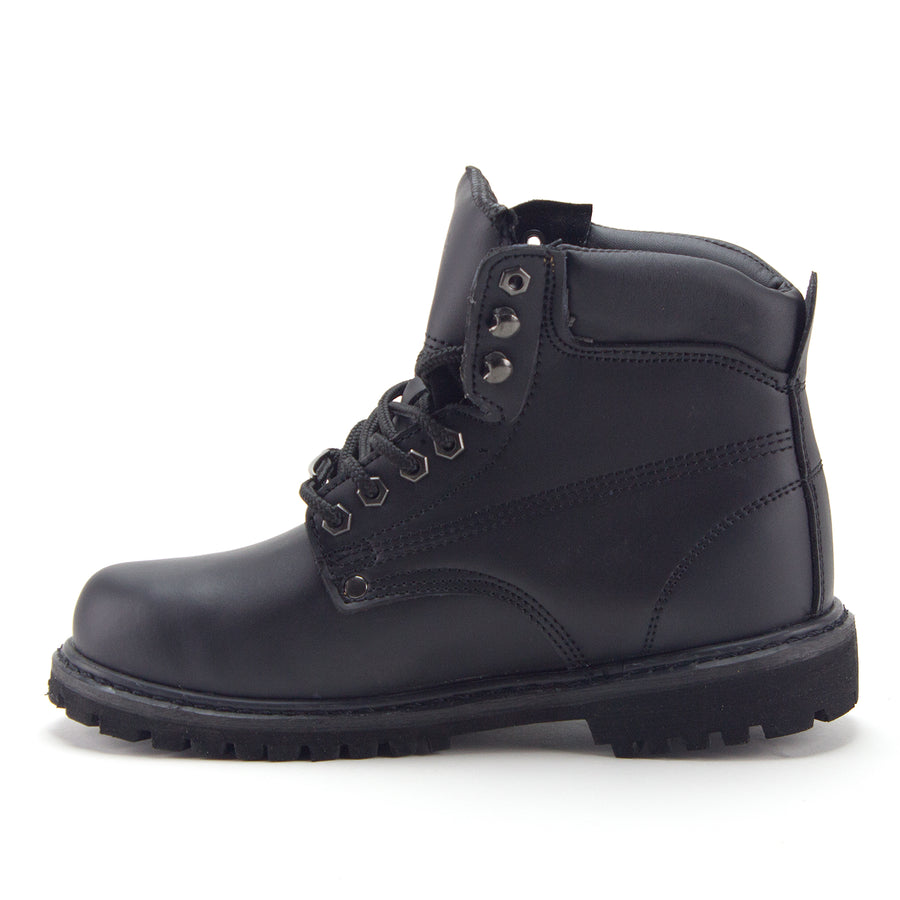 Men's 605 Ankle High Water Resistant Premium Construction Safety Work Boots - Jazame, Inc.