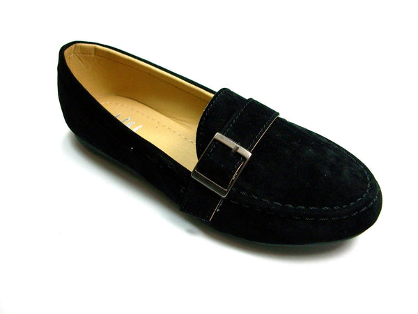 Women's U-Celine Slip On Moccasin Flats Dress Shoes - Jazame, Inc.