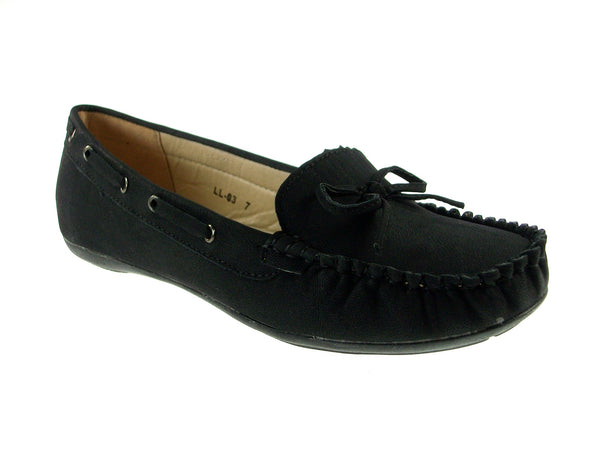 Women's LL03 Moccasin Slip On Comfot Flat Shoes - Jazame, Inc.