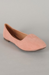 Women's Slip On Suede Ballerina Flat Shoes Jolene-01
