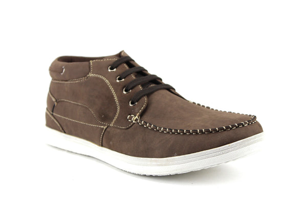 Men's Delli Aldo Low Rise Casual Sneakers Boot 502 Brown-121 - Jazame, Inc.