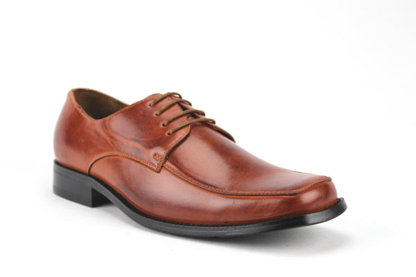 Mens Ferro Aldo Classic Casual Dress Oxford Shoes 19033 Brown-200 - Jazame, Inc.