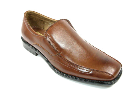 Mens Delli Aldo Classic Casual Dress Loafers Brown Shoes