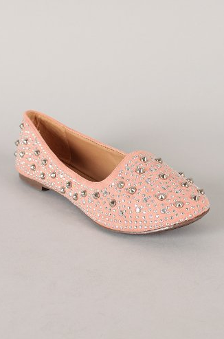 Women's Breckelles Slip On Studded Flat Dress Shoes Jolene-03 - Jazame, Inc.