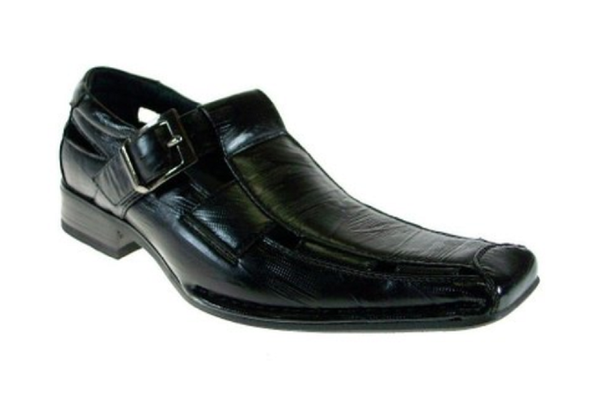 Boys Conal Sandals Dress Loafers Shoes K-61011 Black-91 - Jazame, Inc.
