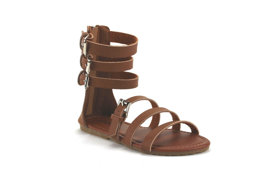 Kids Julia-710 Girls Strappy Gladiator Sandals - Jazame, Inc.