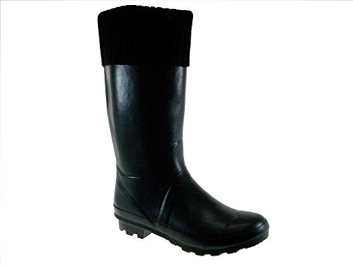 Women's Lara Ribbed Tall Rain Boots - Jazame, Inc.