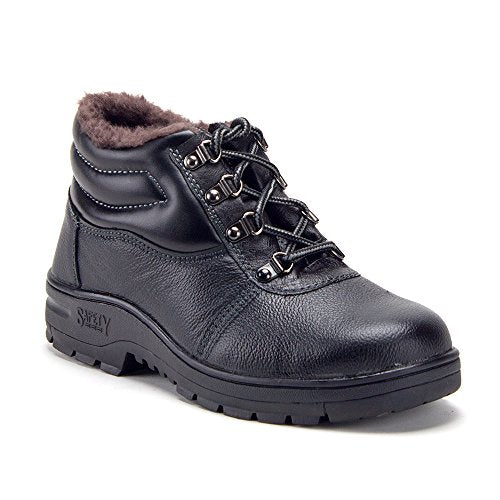 Jazame Men's Heavy Duty Waterproof Steel Toe Lined Non-Slip Safety Construction Work Boots - Jazame, Inc.