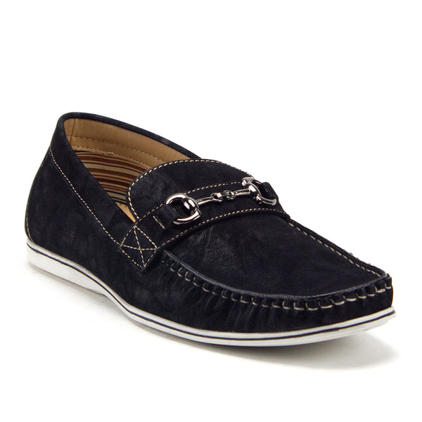 Men's 41207 Marco Suede Driving Loafers Horsebit Driver Slip On Shoes - Jazame, Inc.