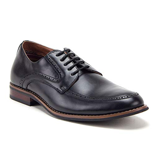 Men's 20631 Lace Up Round Toe Brogue Derby Oxfords Dress Shoes - Jazame, Inc.