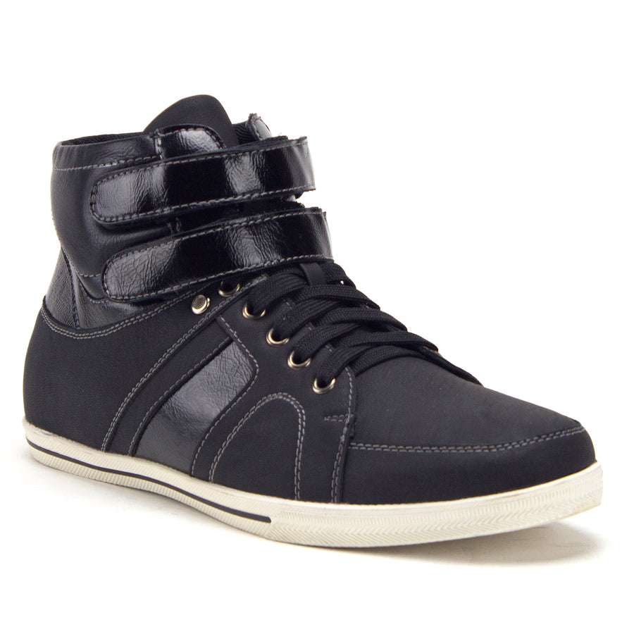 Men's Lace Up High Top Casual Sneakers Chukka Boots Shoes - Jazame, Inc.
