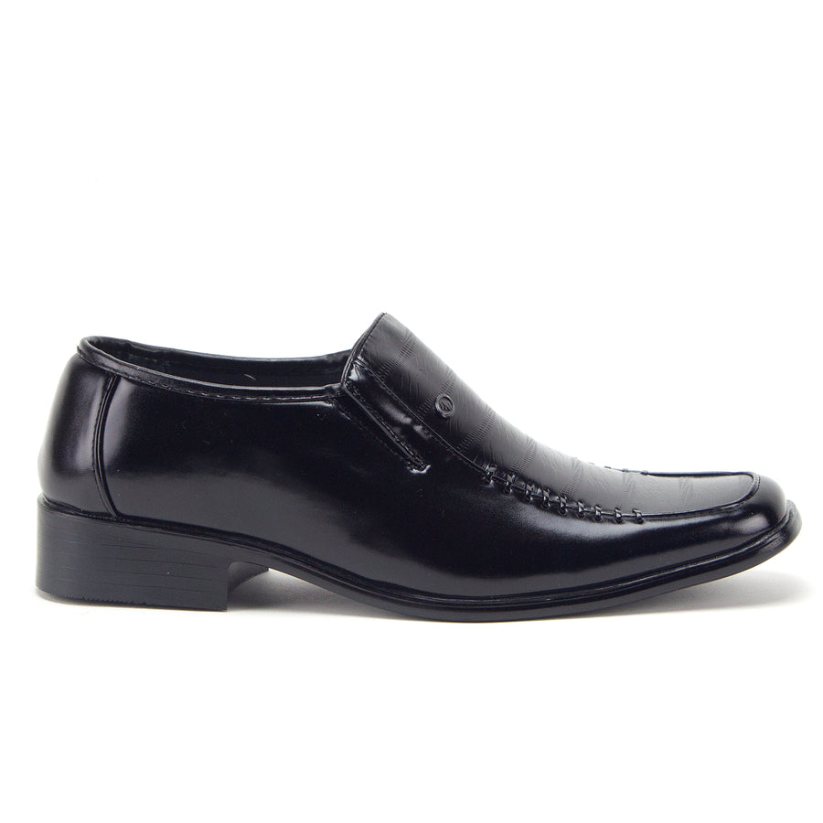 Men's 31192 Classic Square Toe Slip On Moccasin Loafers Dress Shoes - Jazame, Inc.