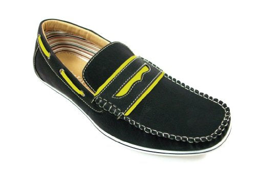 Men's 30222 Slip On Mocassin Penny Loafer Casual Shoes - Jazame, Inc.