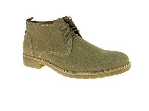 New Men's 51001 Suedette Ankle High Lace Up Casual Boots - Jazame, Inc.