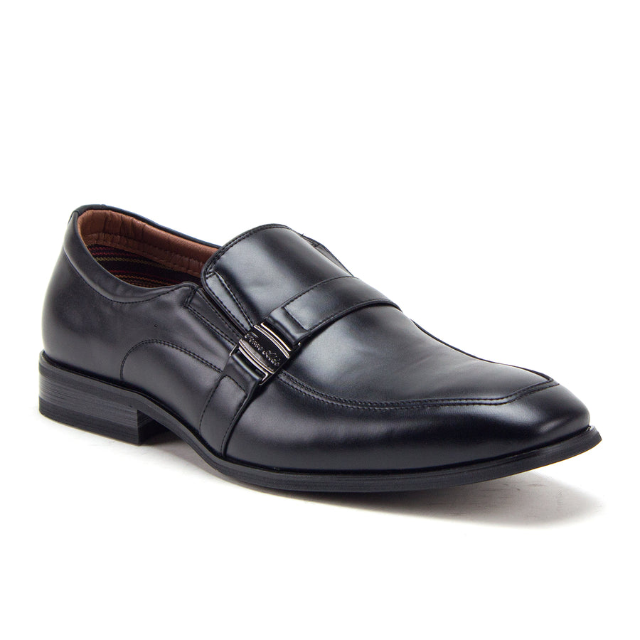 Men's 20623 Classic Round Toe Slip On Leather Lined Loafers Dress Shoes - Jazame, Inc.