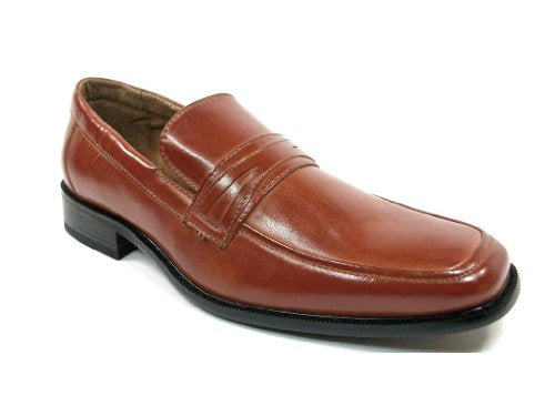 Men's 19269 Classic Slip On Penny Loafer Dress Shoes - Jazame, Inc.