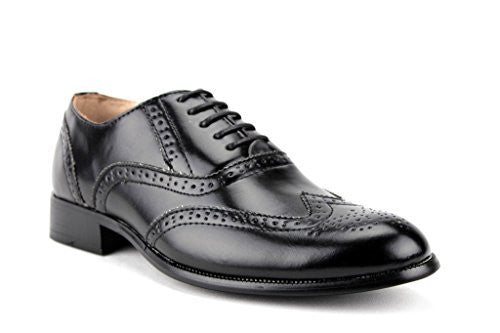 New Men's 95753 Wing Tip Formal Lace Up Oxford Shoes - Jazame, Inc.
