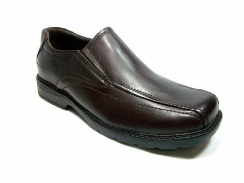 GBX Mens Protocol Ultra 3 Brown Leather Dress Casual Shoes