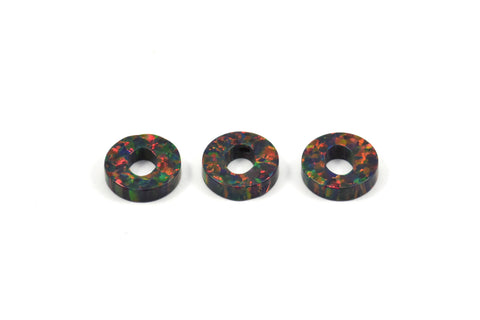 Opal O Letter - Snythetic Opal Initial Letter (10x2.50mm)