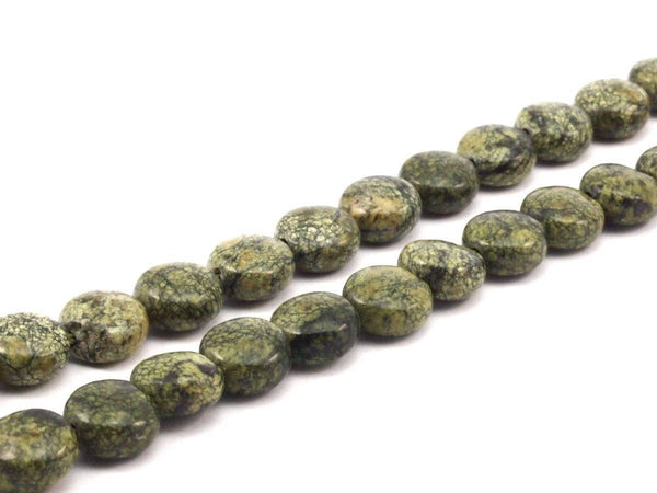 12mm Coin Gemstone Beads 15.5 Inches Full Strand G251