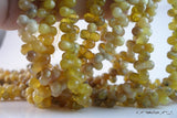 Full Strand Yellow Opal 12mm  Sandglass Gemstone Beads G12