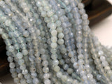 5 Mm Blue Lace Agate Chalcedony Gemstone Beads - 80 Pcs G20 T090
