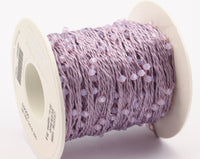 1 Spool - 50 Meters - Swarovski Crystal Yarn, Purple