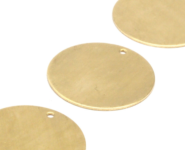 10 Raw Brass Stamping Blank (30x0.80mm) A0804