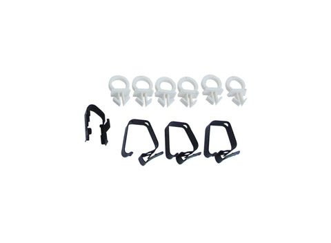 102-HC Mopar 1970-72 B-body Air Grabber Hose Clip Kit - Mopar Plus Restoration Parts