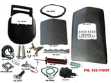 103-71KIT Mopar 1971-72 Roadrunner GTX Air Grabber Kit with Hood , Product Bundles/Air Grabber - B-Body, Mopar Plus Restoration Parts