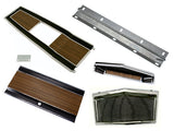 131-70SET Mopar 1969-70 B-body Woodgrain 4 Speed Console Plate Kit , Product Bundles/Dash and Console - B-Body, Mopar Plus Restoration Parts