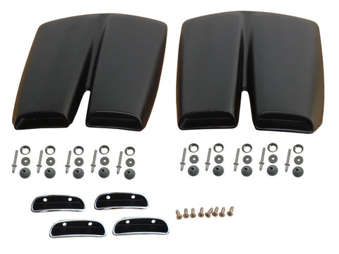 1315-69KIT Mopar 1969 Dodge Coronet Super Bee Side Scoop Kit - Mopar Plus Restoration Parts